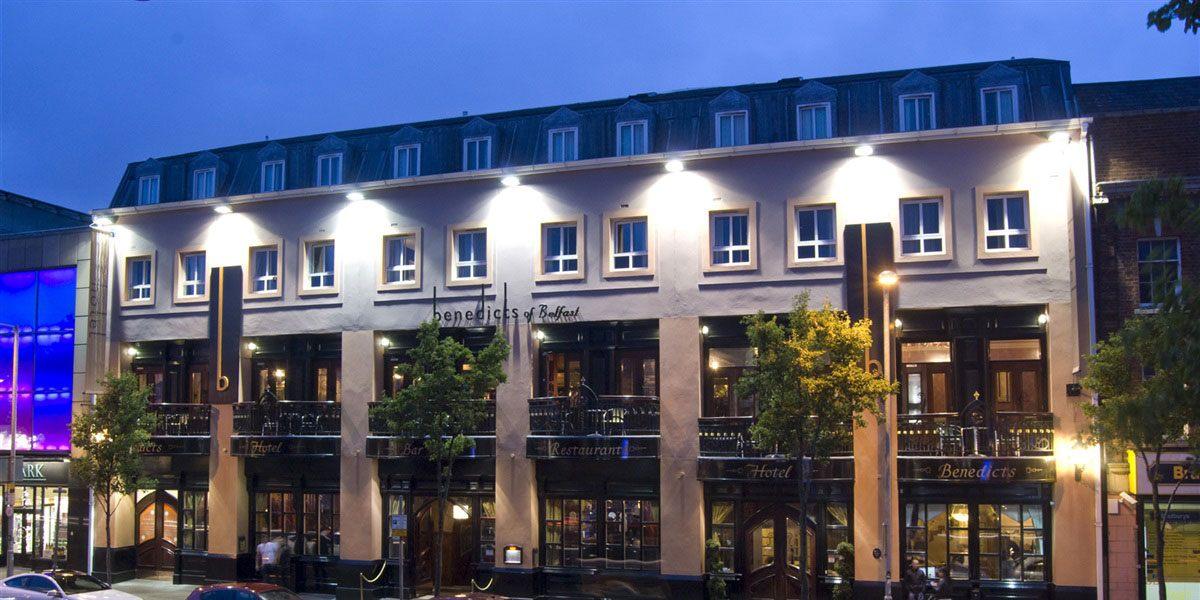 Belfast City Centre Benedicts Hotels Boutique Hotels Belfast