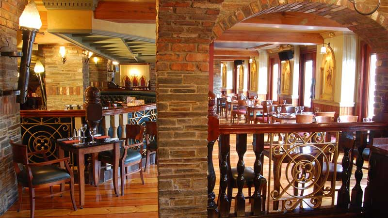 Belfast Bar Reservation area for a special occasions at Benedicts Bar